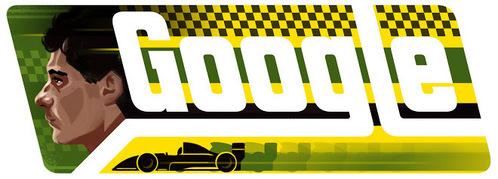 This picture celebrates Ayrton Senna's _____ birth anniversary.