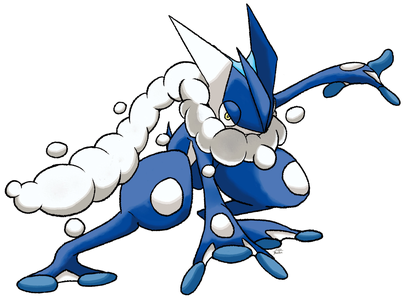 Which of Pokemon is the same height as Greninja?