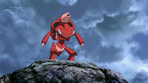 What gender is the Red Genesect?