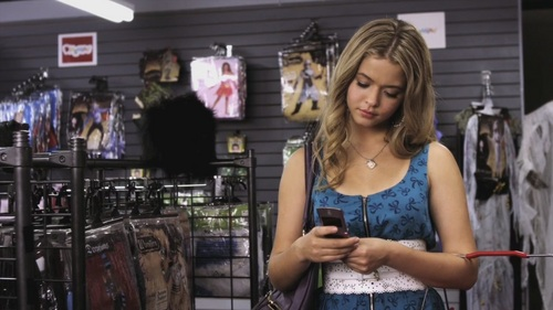 What did the first message that we see Alison say?