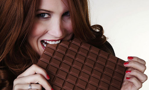 What percentage of the world consumes chocolate on a regular basis?