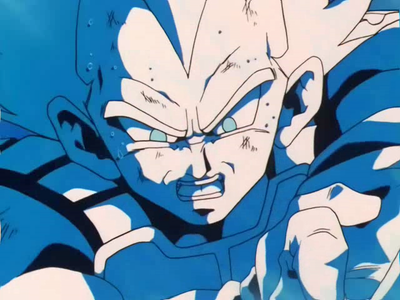 How did Vegeta helped Gohan to finish Cell?