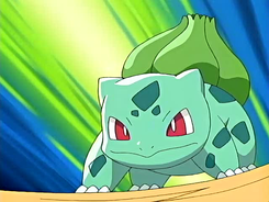 Which of these Moves is Bulbasaur not able to learn in the video games?