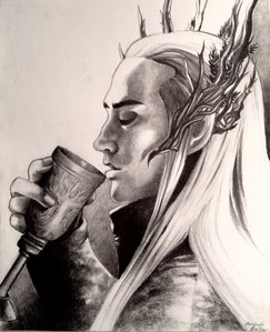 What is Thranduil's favourite drink?