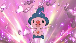 When does Mime Jr. evolve into Mr. Mime?