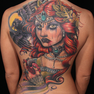 This back piece of Ink Master's season 4 finale was made oleh whom?