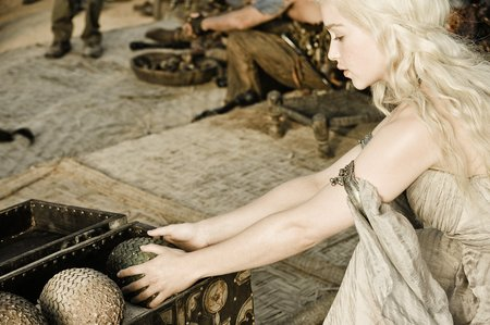 Why did she have the eggs of dragons?