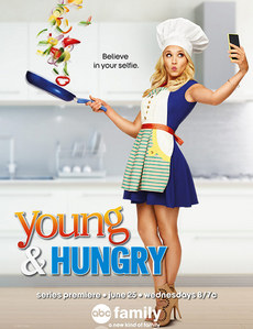 Who is she in Young & Hungry ?