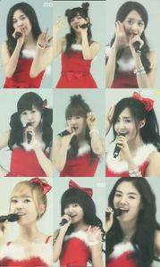 Which is one of Girls' Generation's own Christmas/Winter Song?