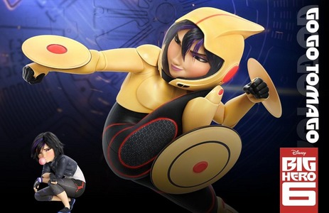Who is the voice of GoGo Tomago?