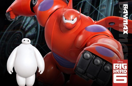 Who is the voice of Baymax?
