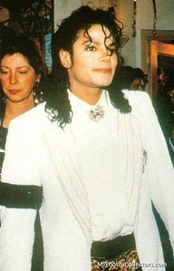 Who was Michael's fecha the night this pic was taken?