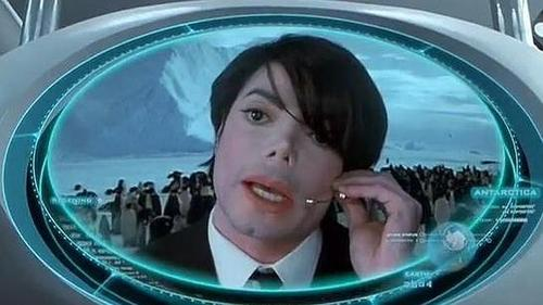 "Who did Michael play in the movie ""Men In Black II""?"