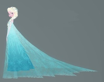 How many times is Elsa mentioned in the movie?