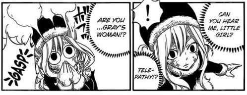 Who's talking to Juvia?