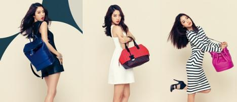 this picture of park shin hye is model of what?