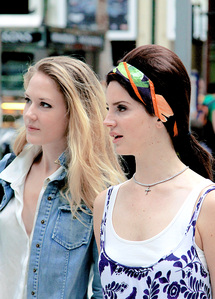 Who's the girl with Lana in the pic?