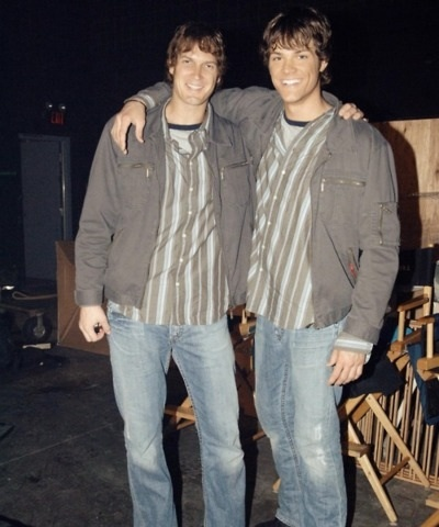 What's the name of Jared's stunt double?