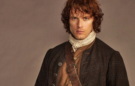 Jamie Fraser is played によって which actor?