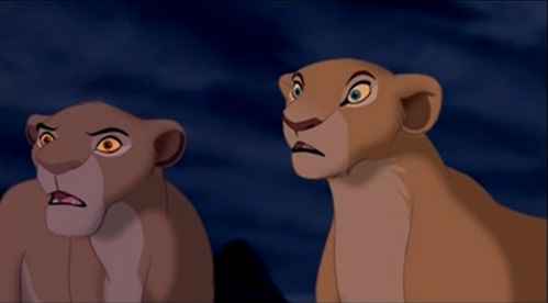 Who's come first to Simba's aid after Scar tell the truth ?