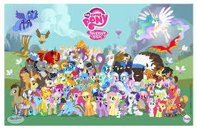 How many total characters are there in my little pony season 4? (the picture is not season 4 characters)
