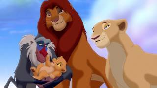 Who was watching over Kirara in the beginning of 'The Lion King 2: Simba's Pride'
