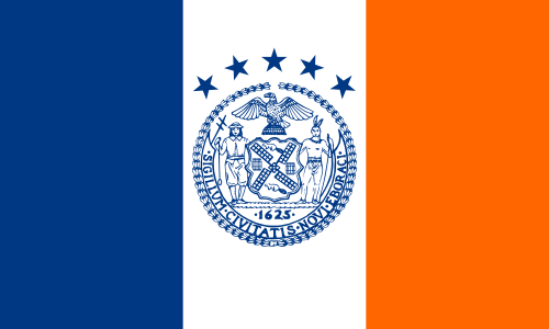 What city flag in New York ?