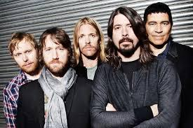Which of the following characters said that they were a big fan of Foo Fighters?