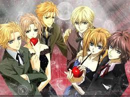 What is the name of the end song in Vampire Knight?