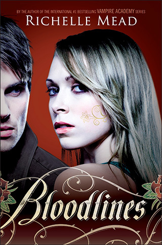 Which character is the protagonist in the Bloodlines series oleh Richelle Mead?
