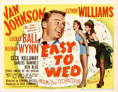 """Easy to Wed"", starring Van Johnson and Esther Williams, is a remake of what 1936 film?"