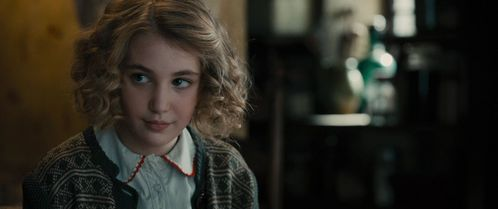 In the movie, who is she?