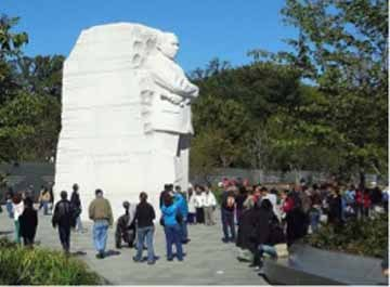 Who is this monument dedicated to in Washington, D.C. ?