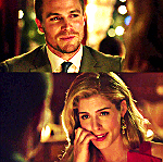 "Oliver: ""There was just something about you."" Felicity: ""Oh, yeah, I was chewing on a pen."" What does Oliver say next?"