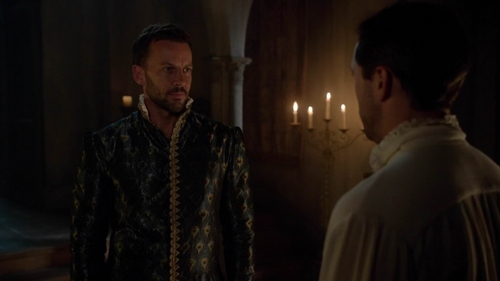 How did Lord Narcisse threaten Lord Ducasse for her deal with Francis for the grain?