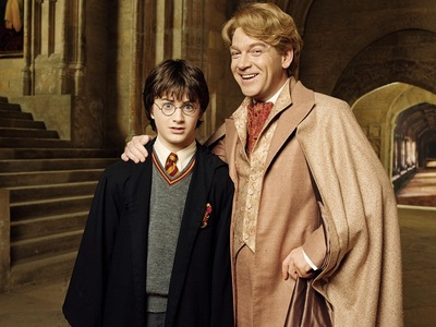 What was the house of Gilderoy Lockhart when he was at hogwarts?