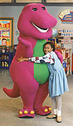 Who is Barney hugging in this pic???
