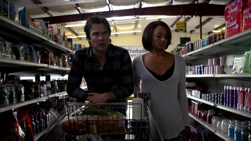 At the end of 6th season, what day are Damon and Bonnie reliving?