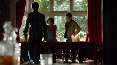 Whose hell is the place where Damon, Bonnie and Kai are in?