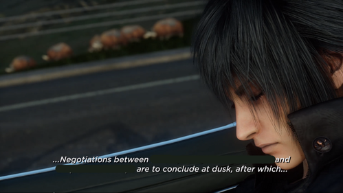 In the TGS 2014 trailer, which two nations are signing a peace treaty?