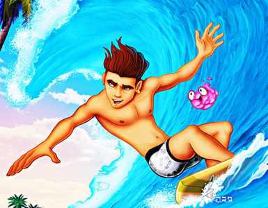 ★ What is the Full Name of this Young Disney Surfer? ★
