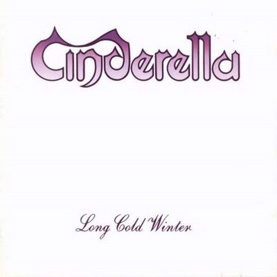 What year did Cinderella release their 2nd album long cold winter?