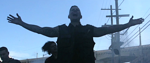 This picture was going to be part of one of Avenged Sevenfold's videoclips, which one?