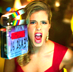 True atau False: Emily Bett Rickards was originally only suppose to appear in one episode of Arrow?