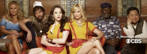 In what of the following shows,  has NOT 2 Broke Girls been referenced?