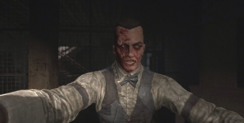 In Outlast: Whistleblower, what song does Eddie Gluskin sing while he's hunting Waylon Park?