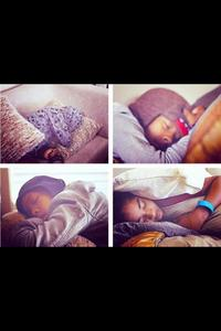 Who's the cutes when they sleep