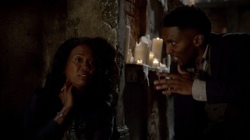 Why is Esther so relieved that Klaus' daughter is dead?