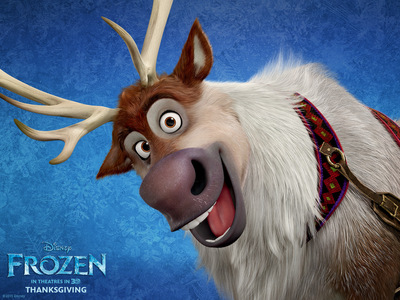 What was the name of Kristoff's reindeer?