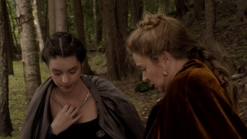 Why are Mary and Catherine hiding their jewelry?